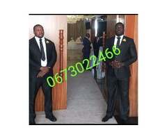 Bodyguards and security guards available at your service