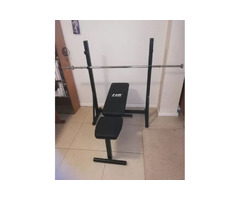 Gym bench barbell & Rack stand