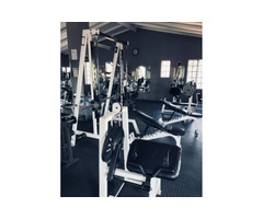 Gym for sale as a whole.