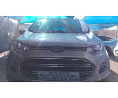 2013 Ford Eco-sport 1.0 Engine Capacity Ecoboost with Manuel Transmission,