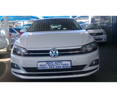 2018 VW Polo 8 TSI 1.0 Engine Capacity with Automatic Transmission,