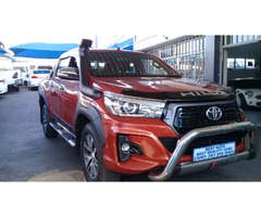 2018 Toyota Hilux 2.8 Engine Capacity GD6 Double Cab with Automatic Transmission,