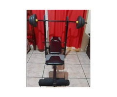 Trojan Bench and Barbell