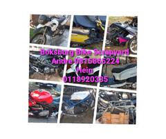 Boksburg bike Scrapyard new and secondhand spares