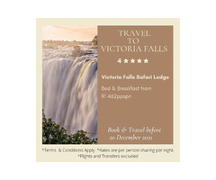Travel time to Victoria Falls!