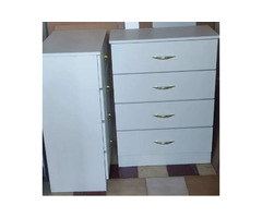 Brand new 4 draw chest of drawers