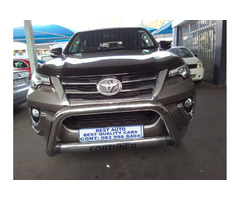 2016 Toyota Fortuner 2.8 Engine Capacity GD6  4X2 with Manuel Transmission,