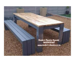INDOORS AND OUTDOORS TABLES
