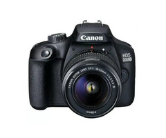 Canon EOS 2000D With EF-S 18-55mm