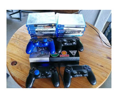 Ps4 combo plus 18 games