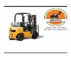 ANDRIK FORKLIFT  TRAINING  0190 MABOPANE