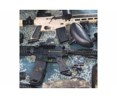 Paintball gear and guns