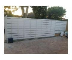 Automated gates and palisade fencing
