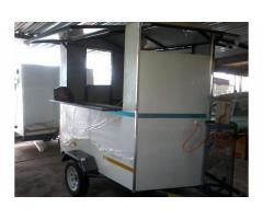 2,4m kitchen trailer