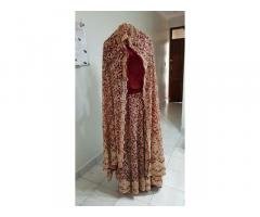Imported Heavy Handwork Eastern Bridal Outfit
