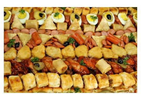 SAVOURY SNACKS - PLATTERS FOR PARTIES AND WEDDINGS ALSO NOW BULK