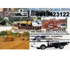 ROODEPOORT / WESTRAND RUBBLE REMOVALS  DEMOLISHING & EXCAVATIONS 0813423122