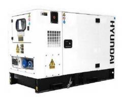 Hyundai 14kVA 3-Phase DHY11KSEm Silent Diesel ATS Generator.