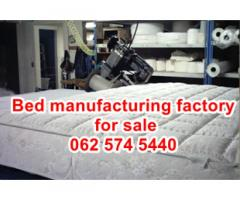 Bed Manufacturing business for sale