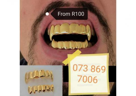 Teeth Grillz from R99