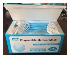 50PCS Disposable Face Màsks, Whatsapp Larry: +27640199100