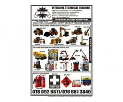 Welding, Boilermaker, Rigging, Electrician, Plumbing, Carpenter, Bricklayer, Computer, safety,