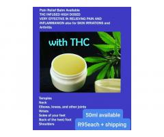 THC Pain relief balm