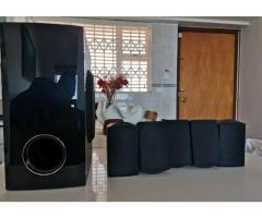 LG 5.1 SURROUND SOUND SPEAKERS