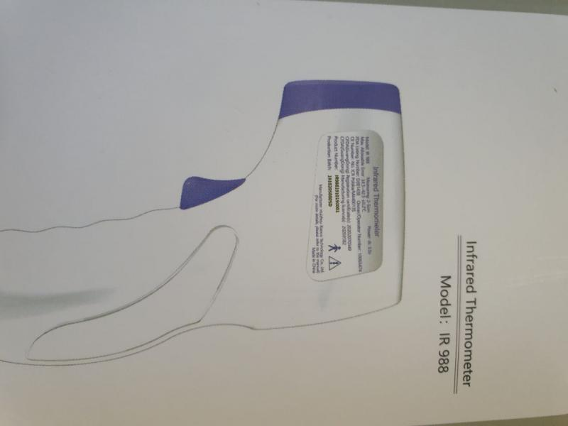 INFRARED THERMOMETERS    I