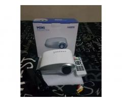 Mini LED Projector with HDMI and VGA