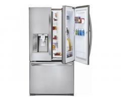 """LG - Door-in-Door 28.6"""" French Door Refrigerator"""