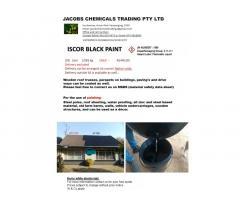 Iscor Black Bitumen Paint 210 litre Drum
