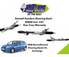 Renault Sandero - OEM Reconditioned Steering Racks