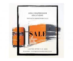 Screw Compressor Crazy Friday Sale