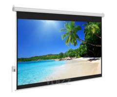 Vega Manto series auto and manual projector screens for sale