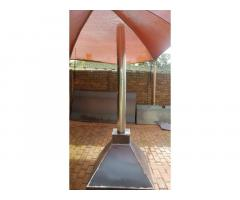 Braai Extraction Canopy for a Lapa