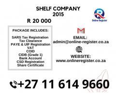 SHELF COMPANY 2015