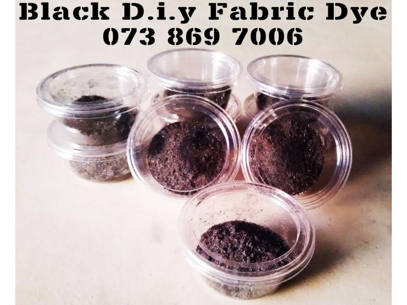 DIY Fabric Dyes