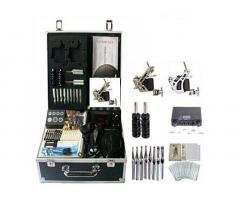 Pro Kit 2 Plus - Tattoo Complete Kit - 2 Machines!! Carry Case Included!!