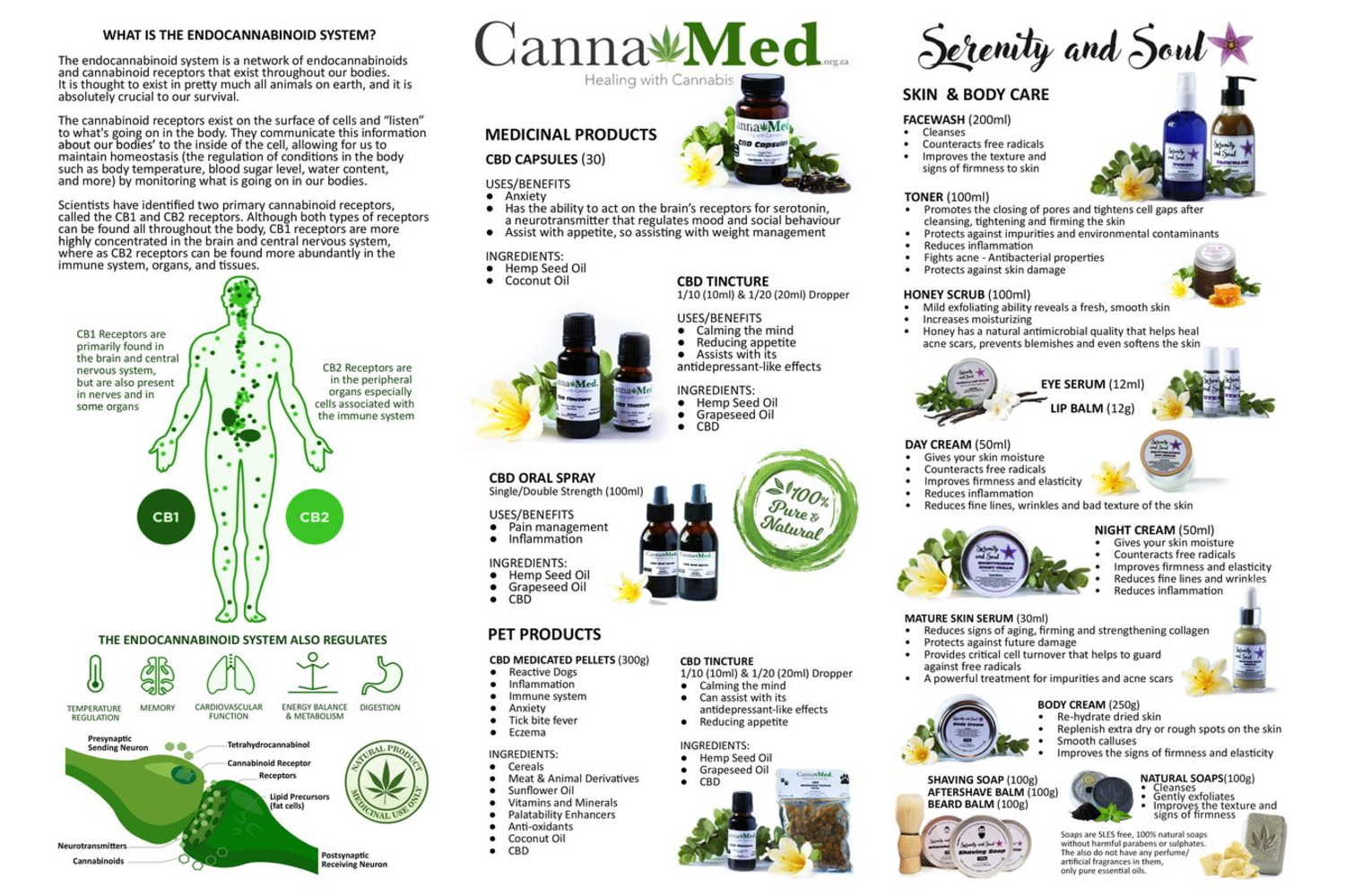 NATURAL HEALING MADE POSSIBLE WITH MEDICINAL CBD