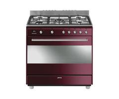 Smeg 90cm Vintage Concert Cooker & Multifunction Oven - SSA91MAP9