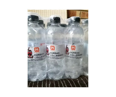 Personalized labels bottles with water