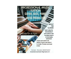 Professional Music Tuition for all ages