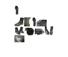 Olive Drab & Black Trakfox RT60 Military Boots For sale.