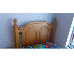 Room set 3 piece for single bed or 3/4 bed