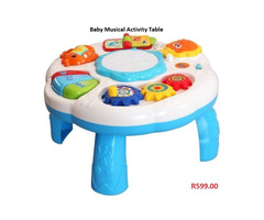 Baby Musical Activity Table