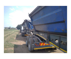 34 ton side tipper Trucks For rental  0658079164
