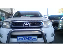 2010 Toyota Hi-lux 3.0 Engine Capacity Double Cab,D4D with Manuel Transmission