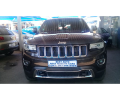 2015 Jeep Grand Cherokee V6  Engine Capacity with Automatic Transmission