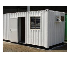 """6"""" Metter (20ft) Portable Office Container"""
